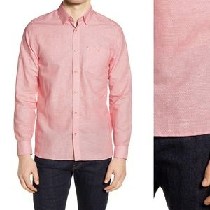 Ted Baker London Cotton Tailored Tall Fit Shirt